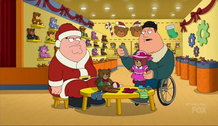cindybuildbear - Family Guy Christmas Episodes