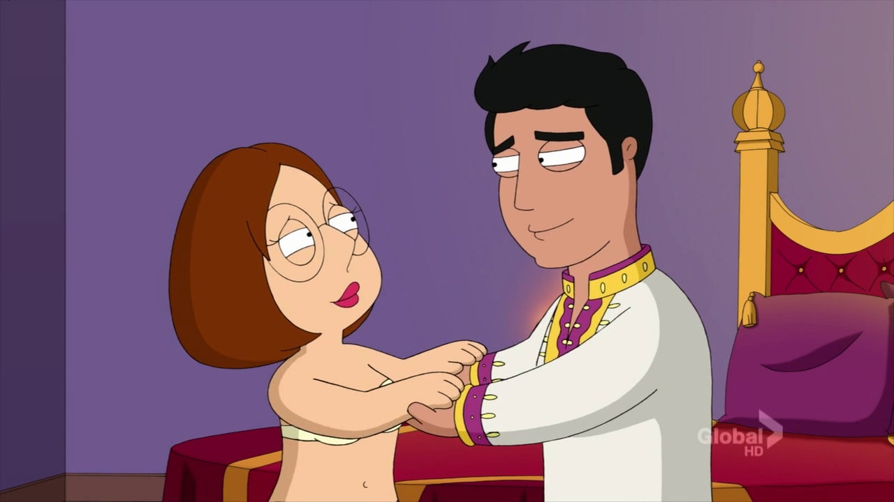 Prince Faisal Is The Son Of A Rich Arab King Who Purchases Meg To Become His Wife In Leggo My Meg O