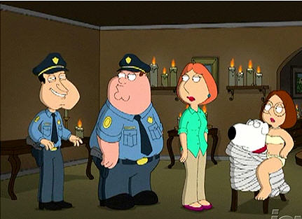Meg and brian have sex family guy