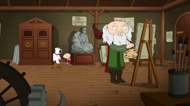 Leonardo Da Vinci Family Guy Wiki Fandom Powered By Wikia