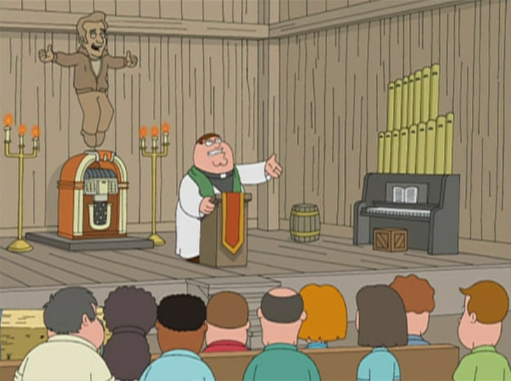 The Father, the Son, and the Holy Fonz | Family Guy Wiki