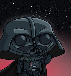 Stewie as Vader