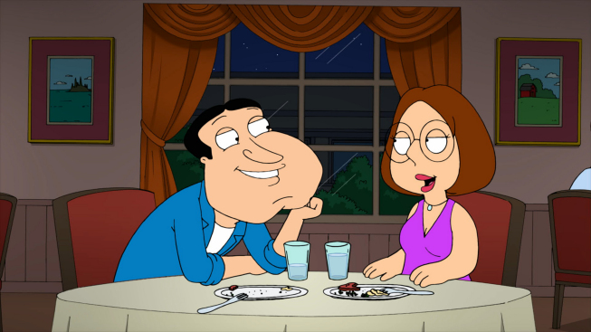 Quagmire dating show
