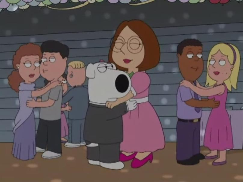 Meg dating brian