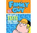 Family Guy Book 3 - Books Don't Taste Very Good