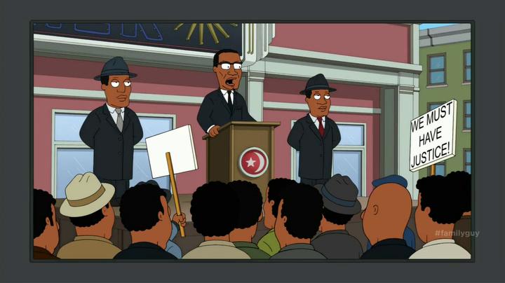 Malcolm X Family Guy Wiki Fandom Powered By Wikia