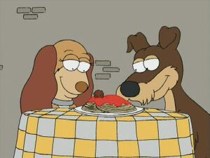 Lady and the Tramp  Family Guy Wiki  FANDOM powered by Wikia