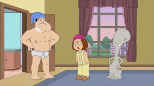 Meg in American Dad