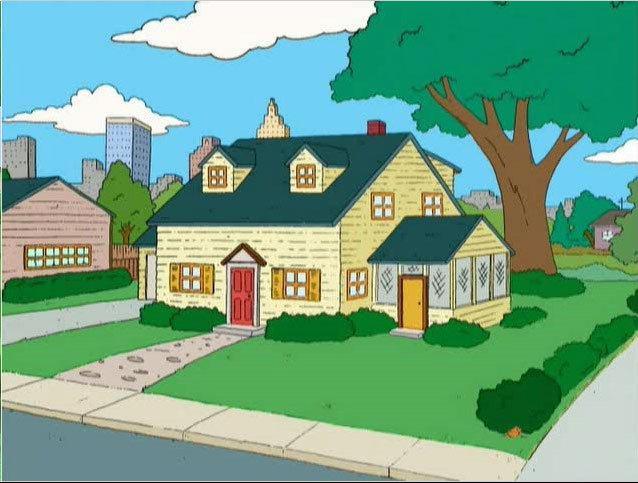 The Griffin Home On 31 Spooner Street In Quahog Rhode Island Is Of Family For Many Years Appeared No Maps Or