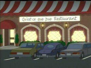 Qu Est Ce Que Pue Restaurant Family Guy Wiki Fandom Powered By
