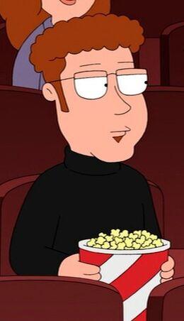 Jeffrey Eating Popcorn