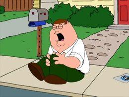 Peter Hurts His Knee