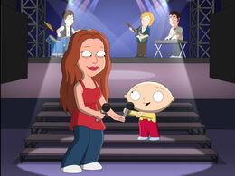 Stewie Singing with Hanny Montanny