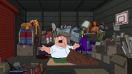 Peter in the Storage Unit