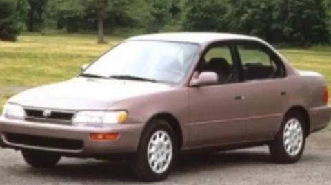 Toyota corolla 1995 tribute