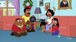 The Browns on Christmas Eve