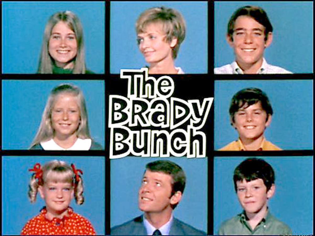 Brady Bunch Christmas Card.The Brady Bunch Family Guy Fanon Wiki Fandom Powered By