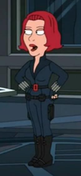 Family Guy Black Widow
