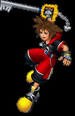 Sora Battle (Kingdom Hearts 3D)