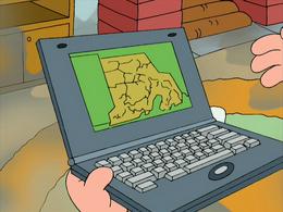 Rhode Island on a Laptop