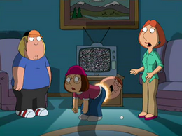 Peter Comes Out of Meg's Ass