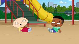 Stewie Befriends a Niglet