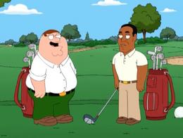 Peter Golfing With OJ Simpson