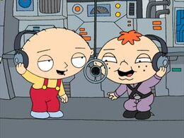 Stewie and Betram Singing