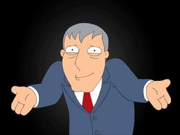 Mayor Adam West Shrugging