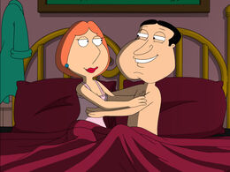 Lois and Quagmire