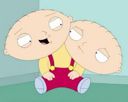 Two Headed Stewie