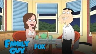 Quagmire Asks Courtney If She'll Move In Season 17 Ep. 15 FAMILY GUY