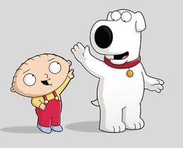 Stewie and Brian