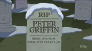 Peter's Future Grave