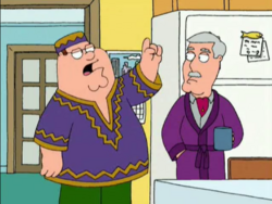 Peter Becomes Black