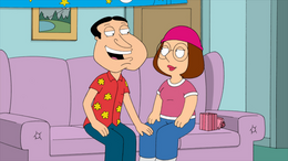 Quagmire and Meg in Love