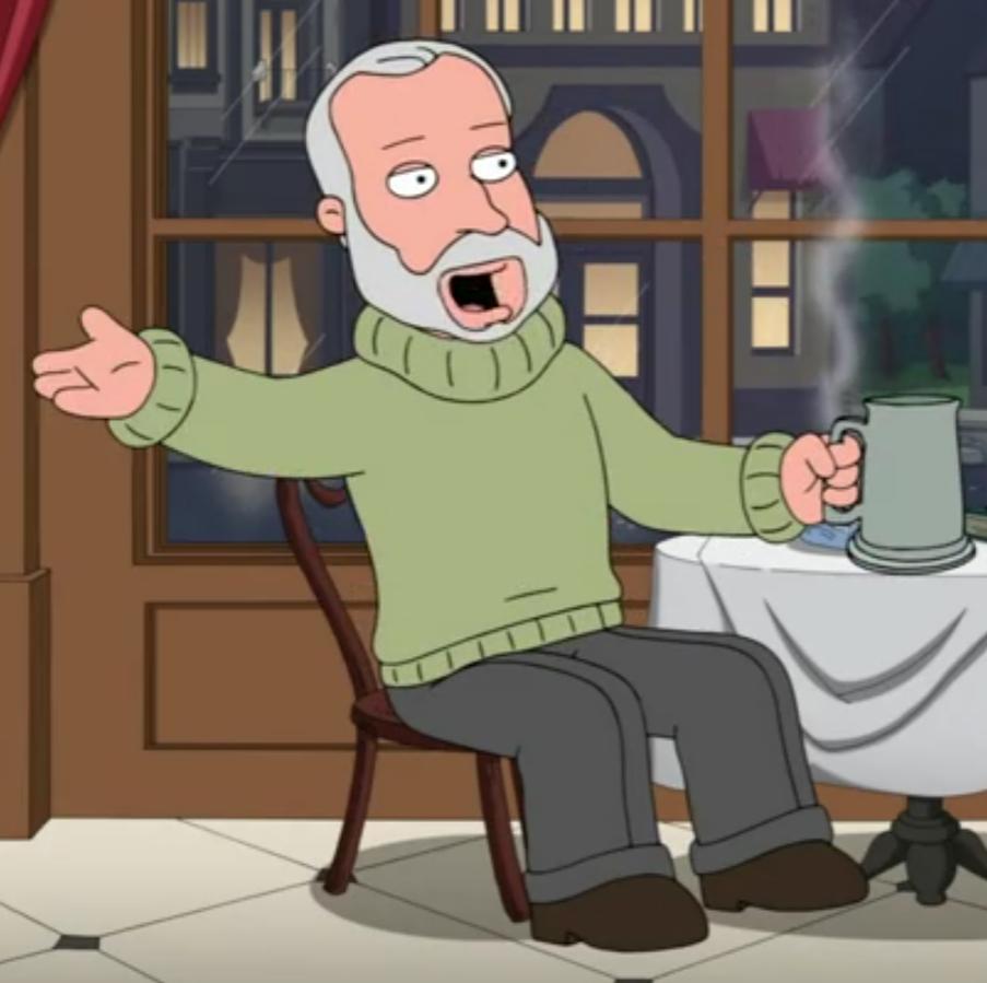 Ernest Hemmingway Family Guy Fanon Wiki Fandom Powered By Wikia