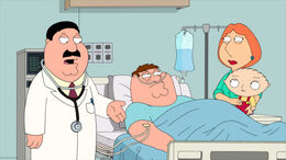 Peter Gets His Testicle Cut Out
