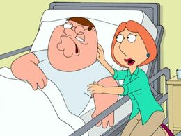 Peter Gets a Stroke