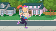 Lois Jogs With Stewie