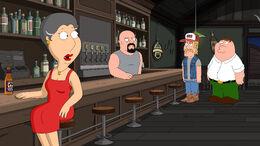Babs at the Bar Sees Redneck Carter