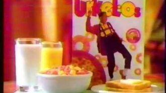 Urkel-Os breakfast cereal 1992 commercial
