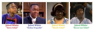 Jaleel white as urkel