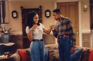 Stefan and Laura (Dr. Urkel and Mr. Cool)