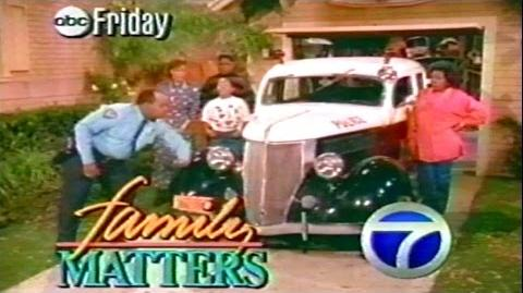 1989 - Promo - Family Matters - ABC Friday