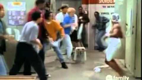Steve Urkel Towel Fight Scene
