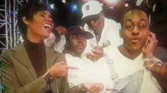 New Edition on the set of Family Matters in 1996