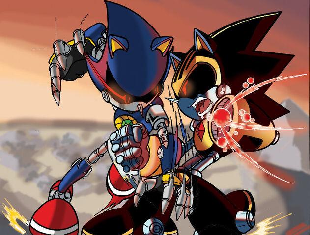 File:Metal sonic vs shard coloured version by leonarstist06-d60i8oh.jpg