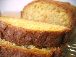 Carrot pineapple bread