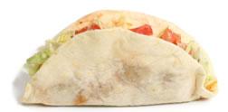 Taco soft shell